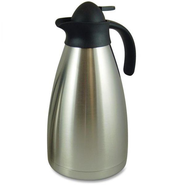 Genuine Joe Contemp Design Vacuum Insulated Carafe