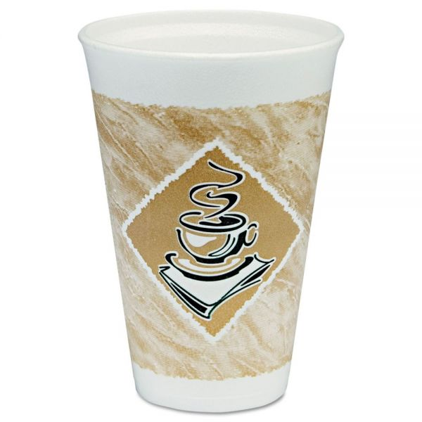 Dart 16 oz Foam Coffee Cups