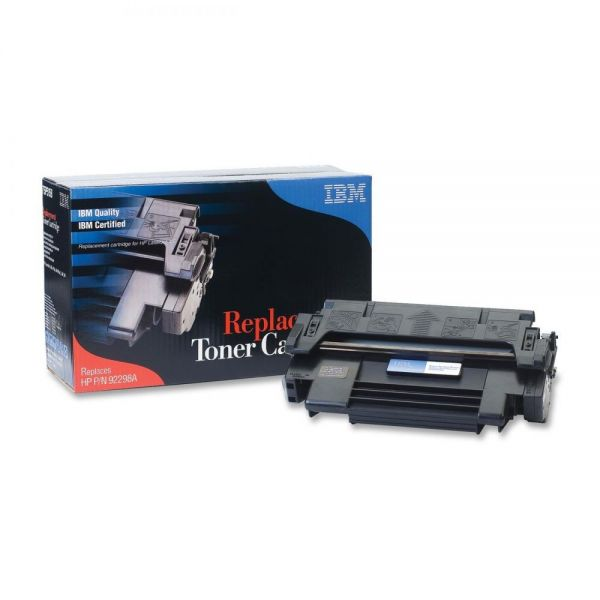 IBM Remanufactured HP 92298A Black Toner Cartridge