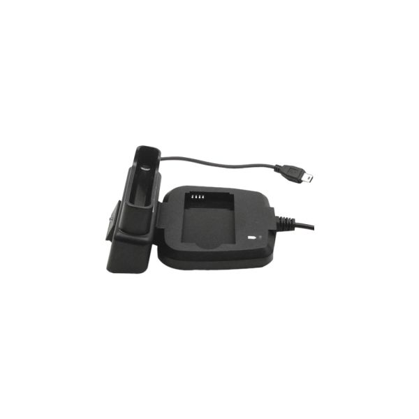 Premiertek GP USB Cradle Charger w/AC Adapter and Integrated Battery Charger Compartment