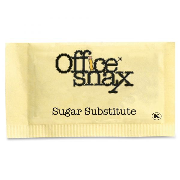 Office Snax Exact Nutrasweet Yellow Packets