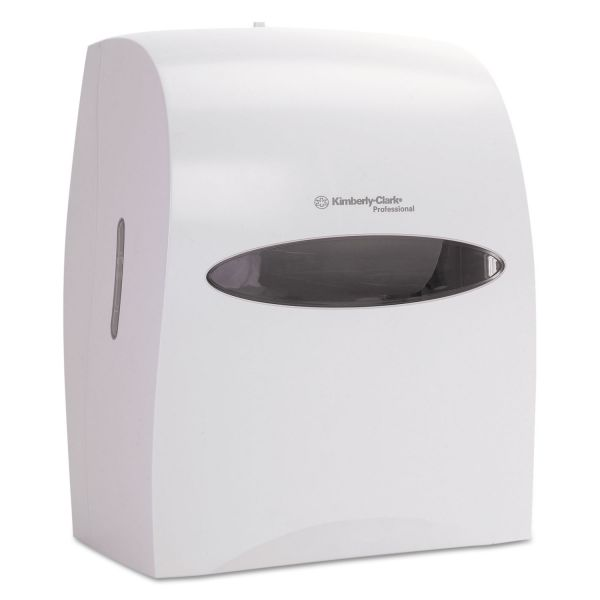 Kimberly-Clark Professional* Touchless Roll Towel Dispenser, 12 63/100w x 10 1/5d x 16 13/100h, White