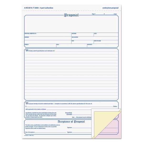TOPS In Triplicate Proposal Form