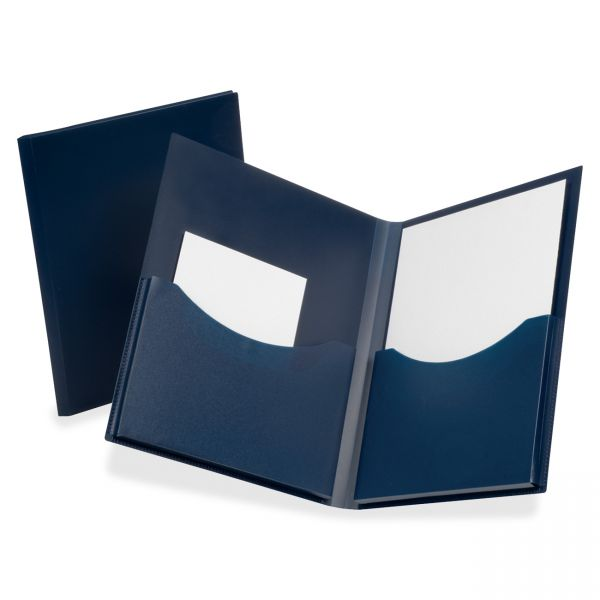 Oxford Poly Double Stuff Twin Pocket Folder