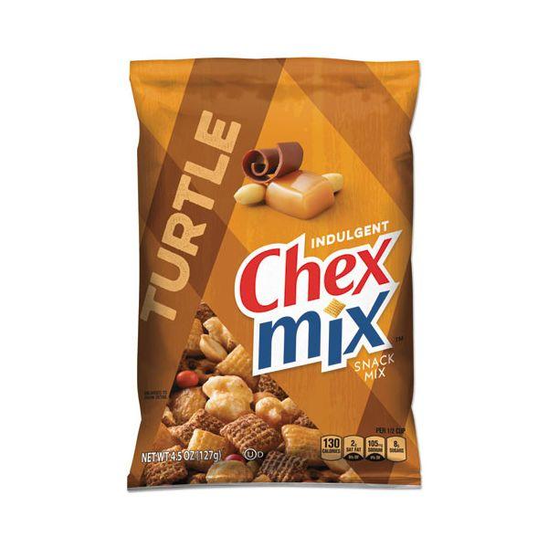 Chex Mix Chocolate Turtle, 4.5oz, 7/Box