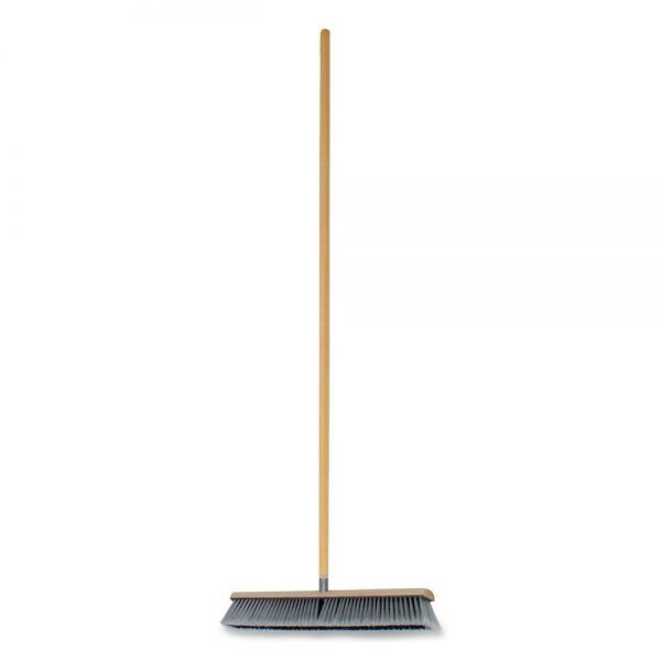 Genuine Joe Heavy-Duty Push Broom