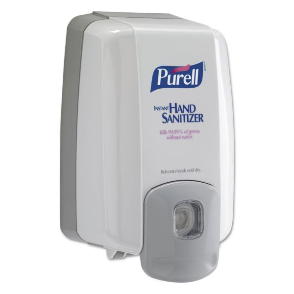 PURELL NXT MAXIMUM CAPACITY Dispenser, 2000mL, Dove Gray