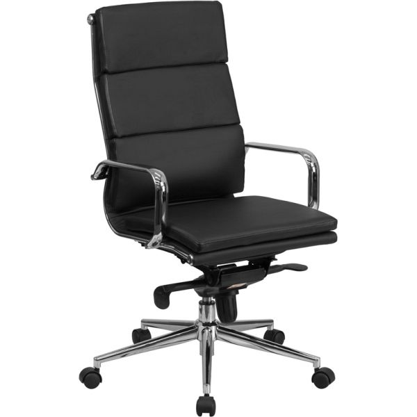 Flash Furniture High Back Executive Swivel Office Chair [BT-9895H-6-BK-GG]