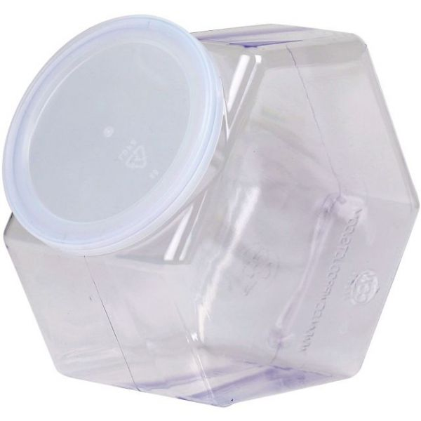 Basic Necessities Plastic Jar W/Lid