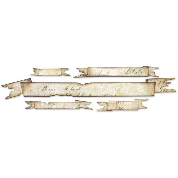 Sizzix Sizzlits Decorative Strip Die By Tim Holtz