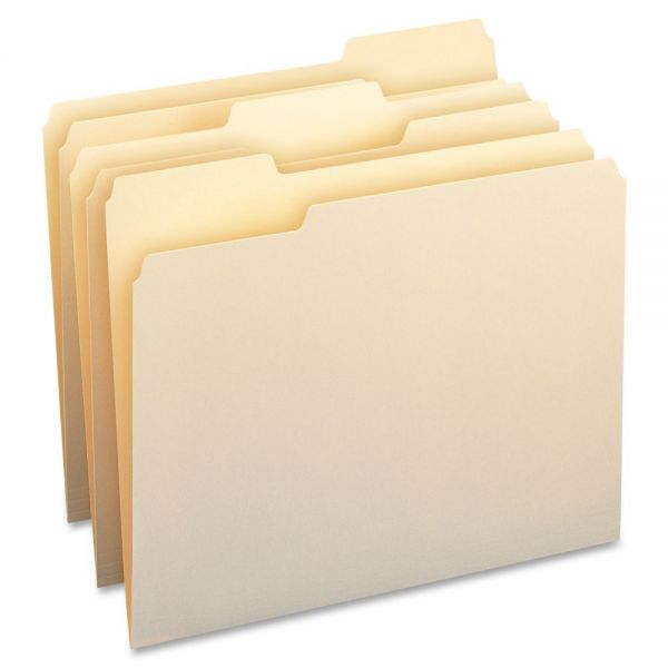 Business Source Manila File Folders