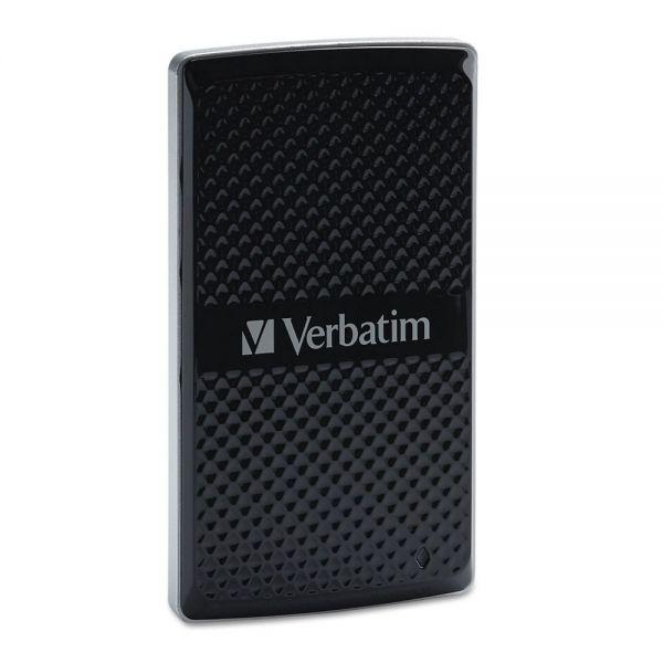Verbatim Store 'n Go External SSD Drive, 128GB, USB 3.0