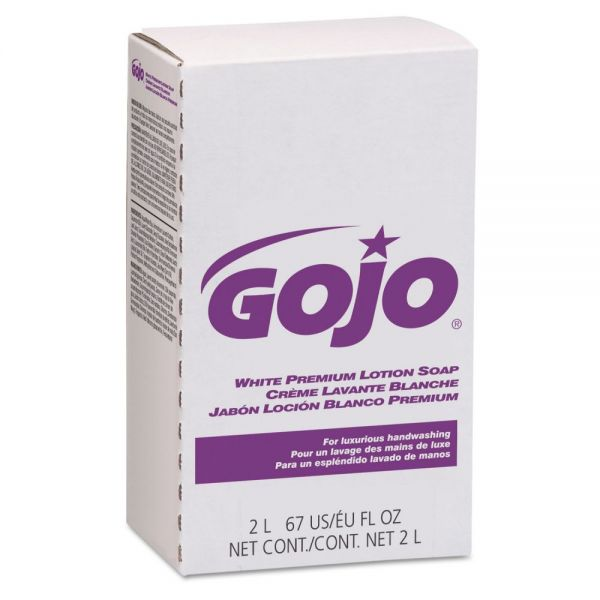 GOJO White Premium Lotion Soap Refills