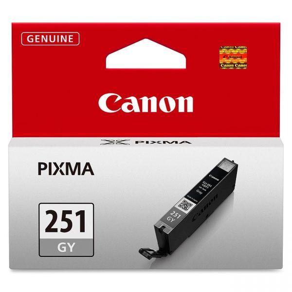 Canon CLI-251GY Gray Ink Cartridge (6517B001)