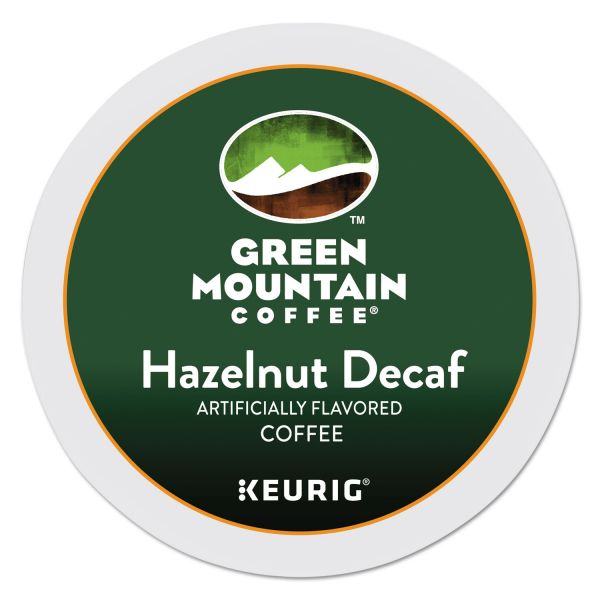 Green Mountain Coffee Hazelnut Decaf Coffee K-Cups