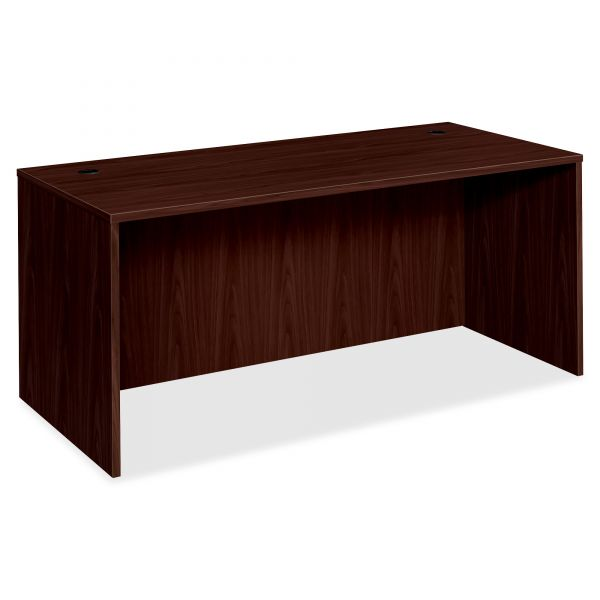 "HON Desk Shell w/Rectangle Top | 66""W x 30""D x 29""H"