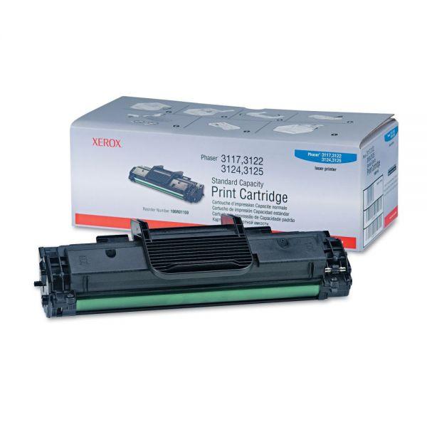 Xerox 106R01159 Print Cartridge, 3000 Page-Yield, Black
