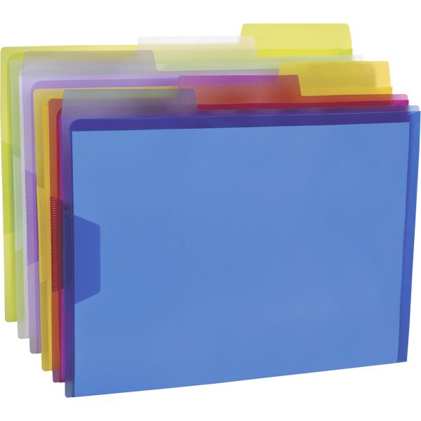 Pendaflex Poly View Folder Assorted Color Pack