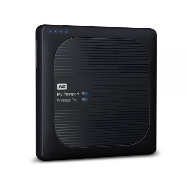 WD 3TB My Passport Wireless Pro Portable External Hard Drive - WiFi AC, SD, USB 3.0