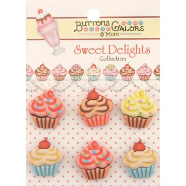 Sweet Delights Buttons