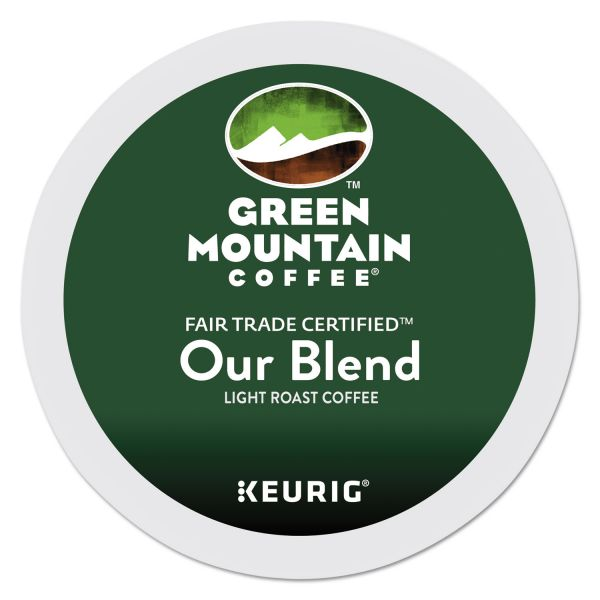 Green Mountain Coffee Our Blend Coffee K-Cups, 96/Carton