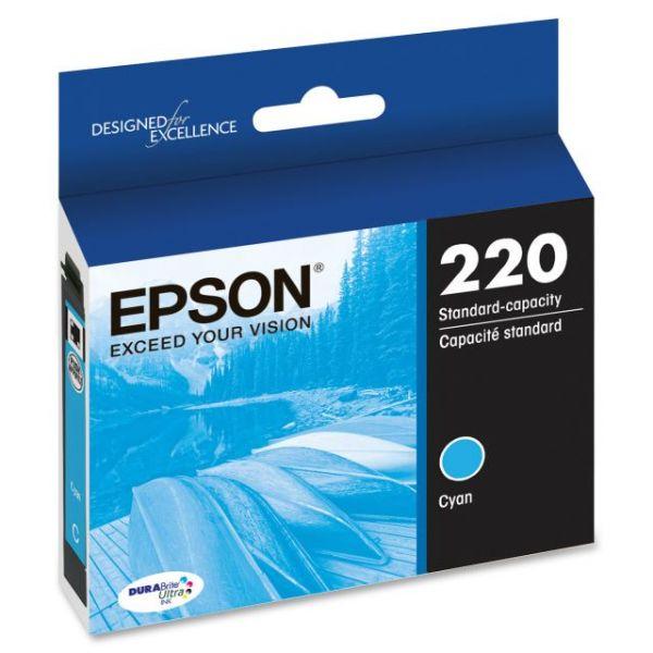 Epson 220 Cyan DURABrite Ultra Ink Cartridge