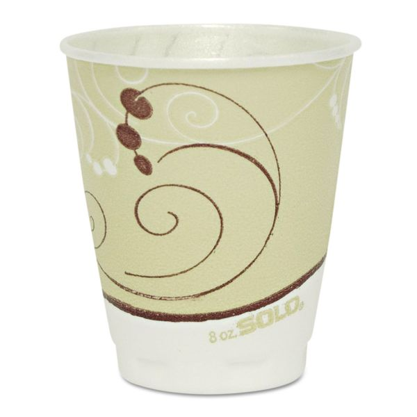 SOLO 8 oz Foam Coffee Cups