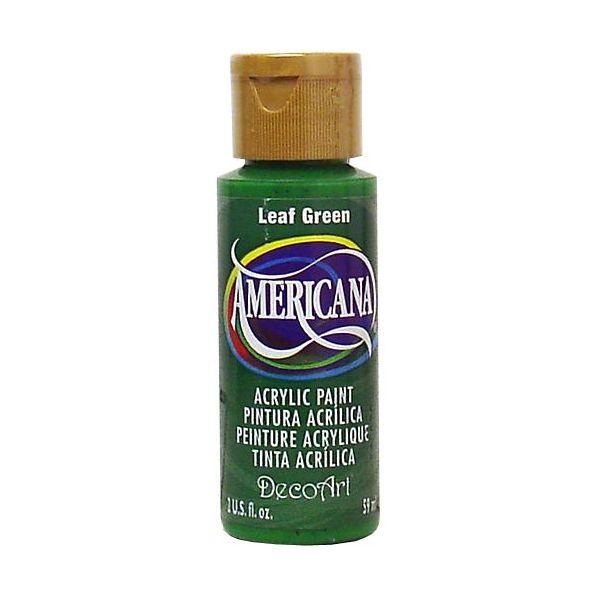 Deco Art Americana Leaf Green Acrylic Paint