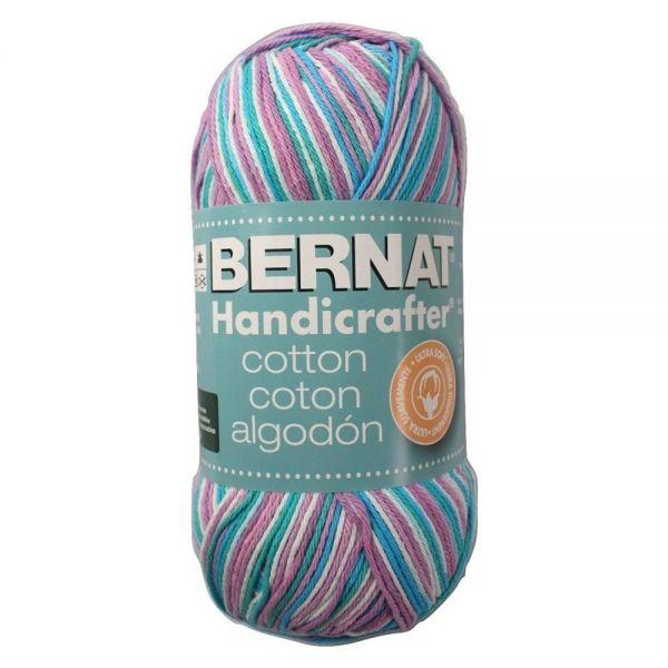Bernat Handicrafter Cotton Yarn (340 Grams) - Beach Ball Blue