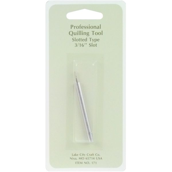 "Professional Quilling Tools .1875"" Slotted Tool"
