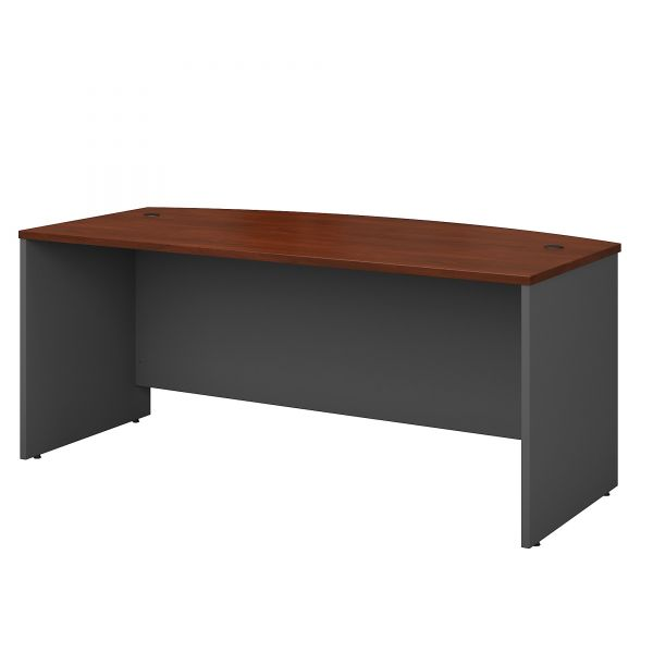 bbf Series C Bowfront Desk Shell by Bush Furniture