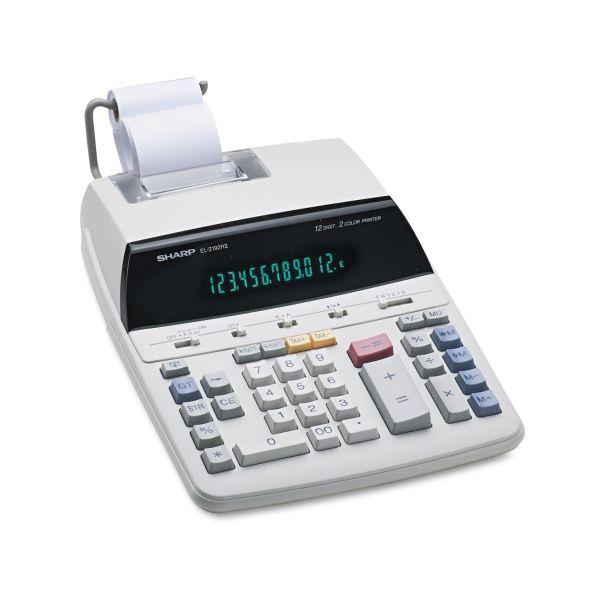 Sharp EL219R11 Printing Calculator