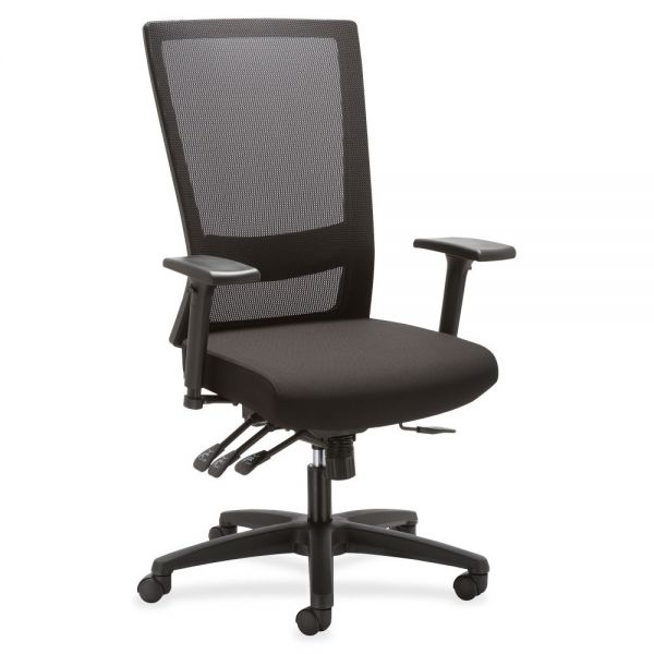 Lorell Asynch Control High-back Mesh Office Chair