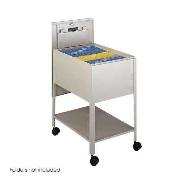 Safco Extra Deep Mobile Tub File Cart