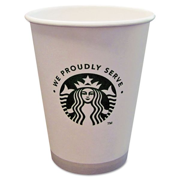 Starbucks 12 oz Paper Coffee Cups