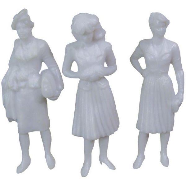 """Female Figures 1.5"""" 5/Pkg"""