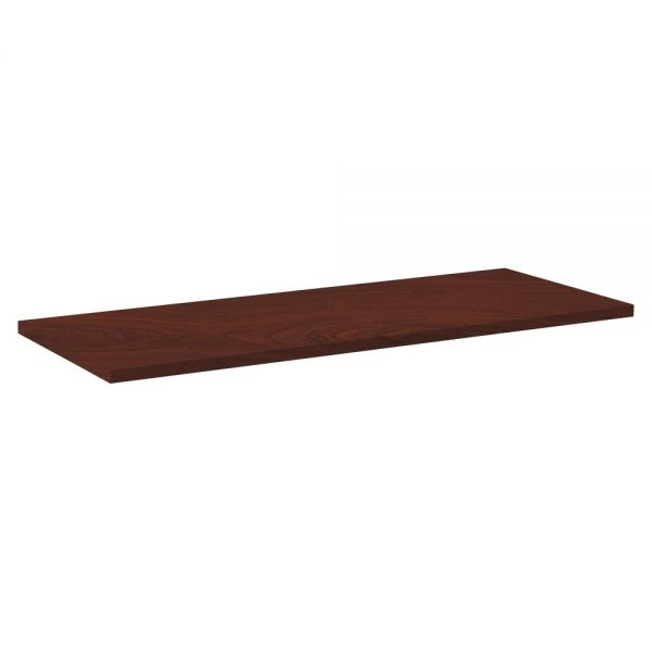 Lorell Rectangular Invent Tabletop - Mahogany