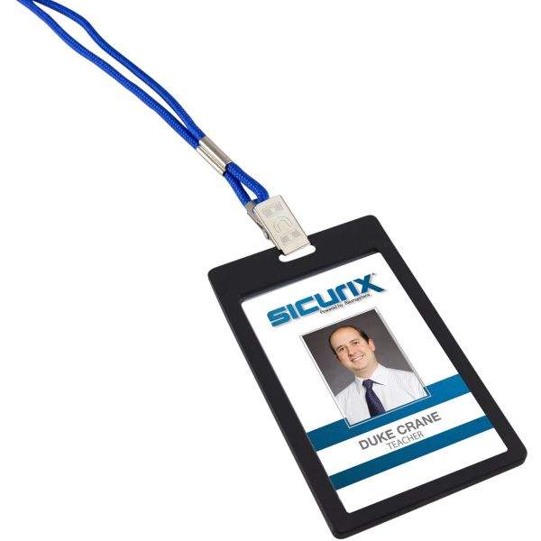 SICURIX Badge Holder - Vertical