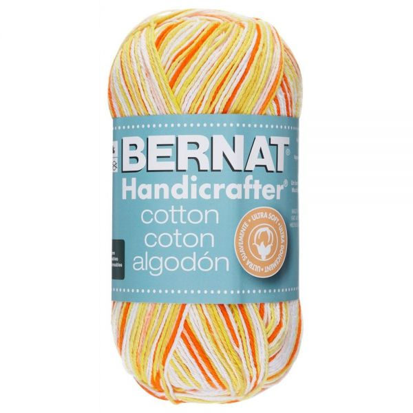 Bernat Handicrafter Cotton Yarn - Creamsicle