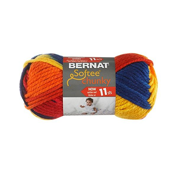 Bernat Softee Chunky Yarn - School Yard