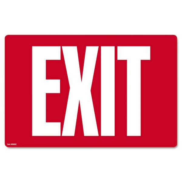 "COSCO ""Exit"" Safety Sign"