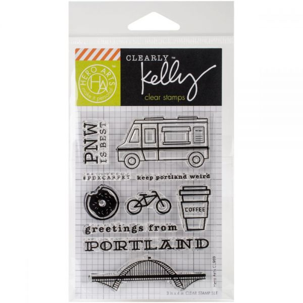 "Kelly Purkey Clear Stamps 3""X4"""