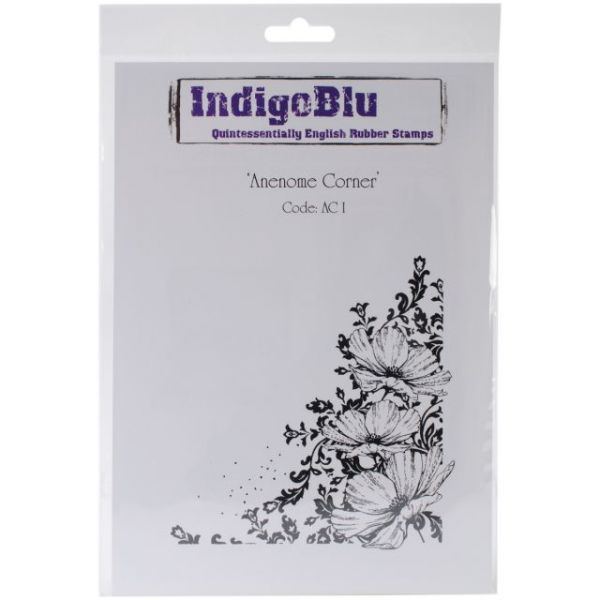 "IndigoBlu Cling Mounted Stamp 9""X6.5"""