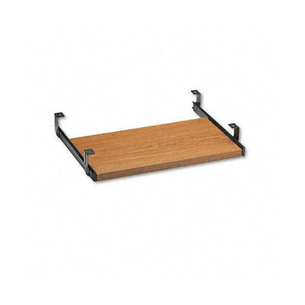 Global Genoa Series Pullout Keyboard Shelf, Oak, 20w x 11d x 3-1/2h