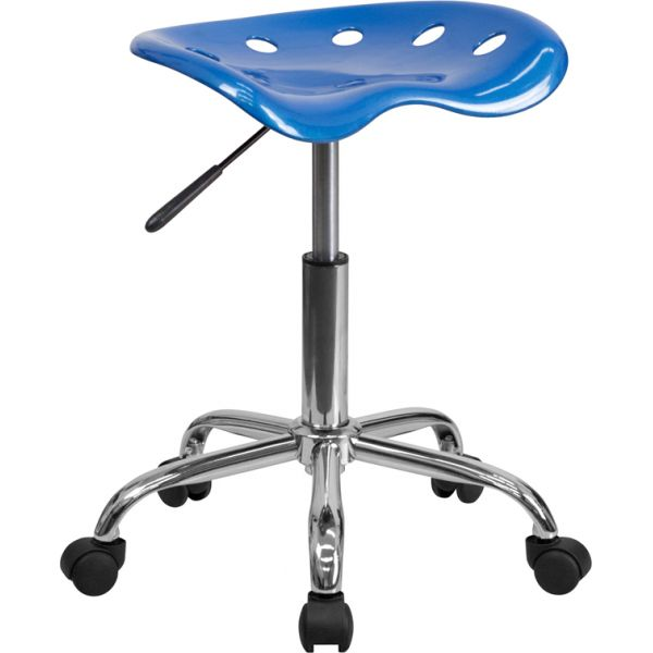 Flash Furniture Vibrant Bright Tractor Seat Stool