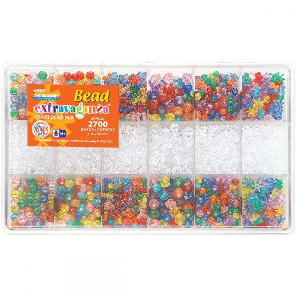 Bead Extravaganza Craft Bead Mix Bead Box Kit