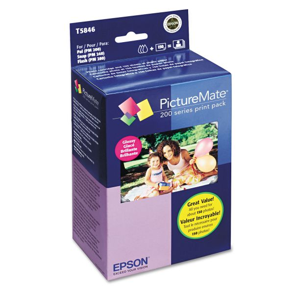 Epson Color Print Cartridge & Photo Paper Kit