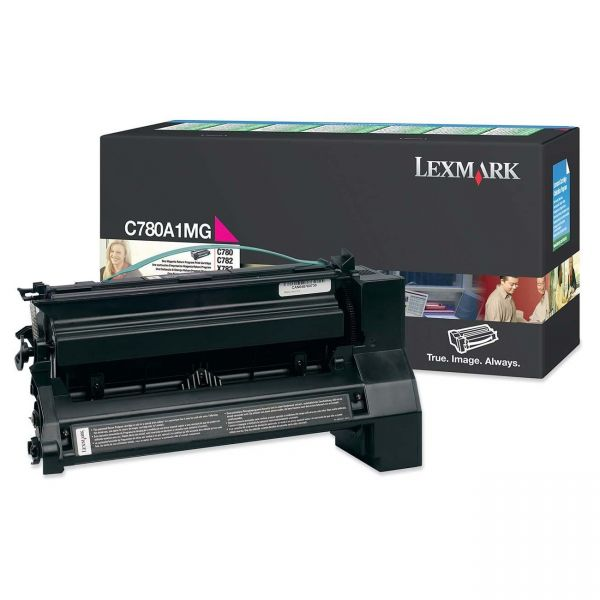 Lexmark C780A1MG Magenta Return Program Toner Cartridge