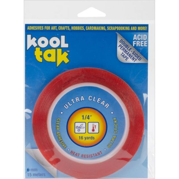 Kool Tak Ultra Clear Tape