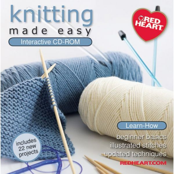 Knitting Made Easy Interactive CD-ROM